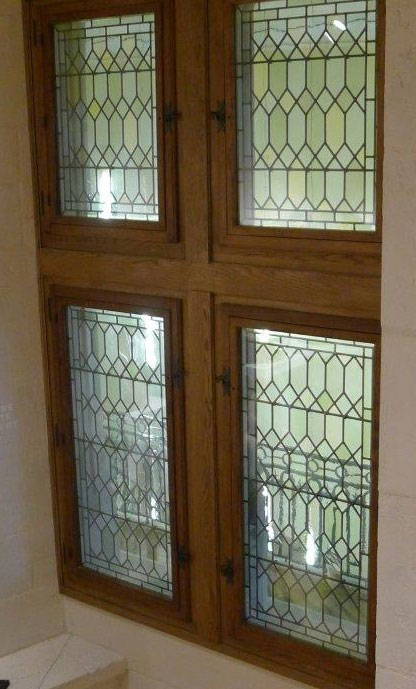 Leaded glass windows doors asselin inc access to all the surfaces of glazing for the maintenance windows doors planetlyrics Image collections