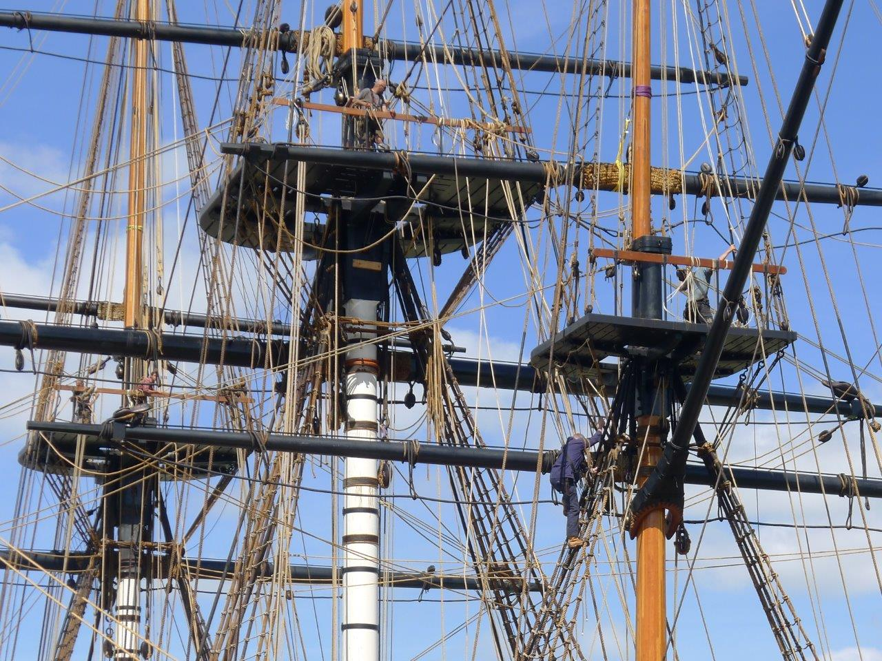 Construction Of The Hermione Frigate Asselin Inc
