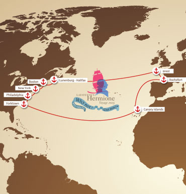 L'HERMIONE'S TRAVEL